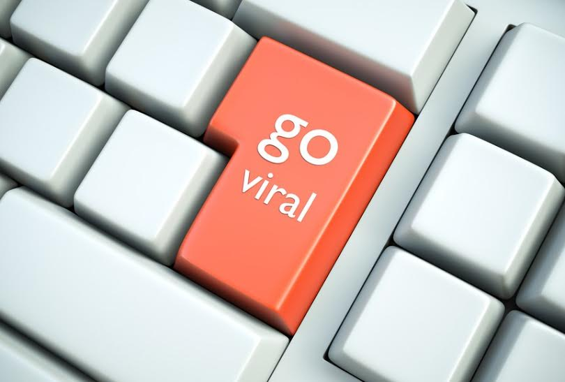 Viral video on social media