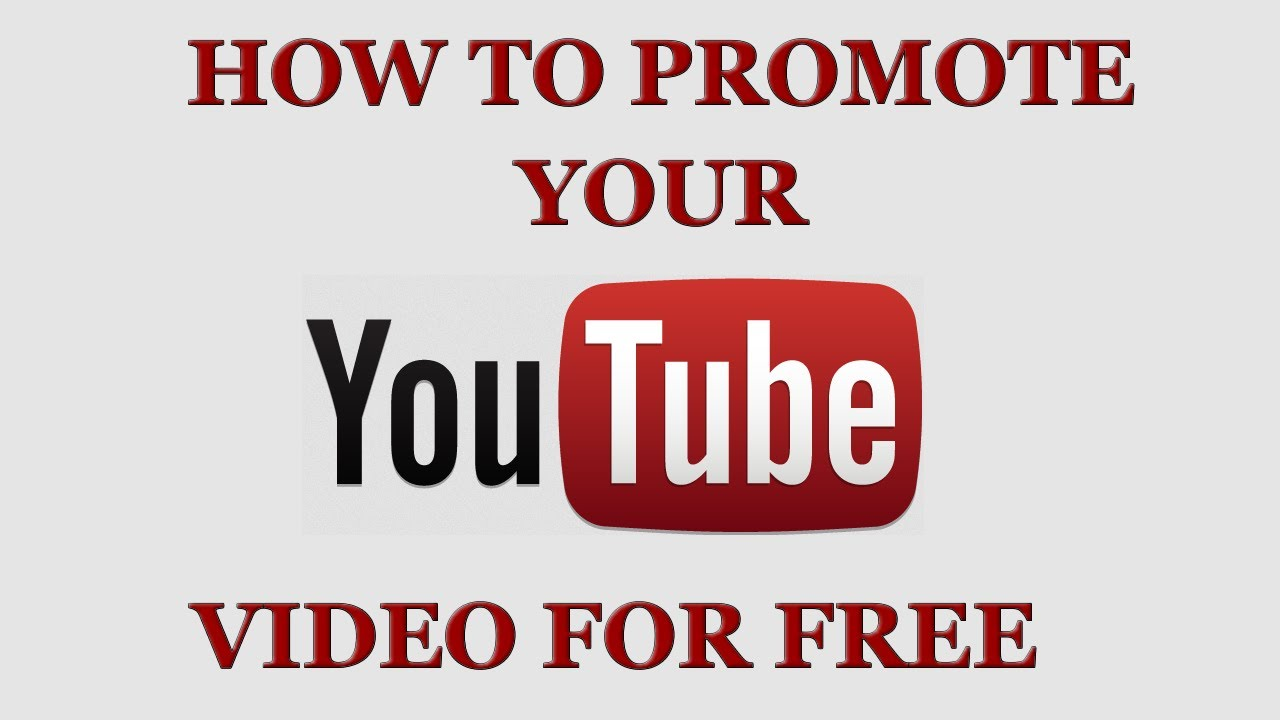 how-to-promote-youtube-video