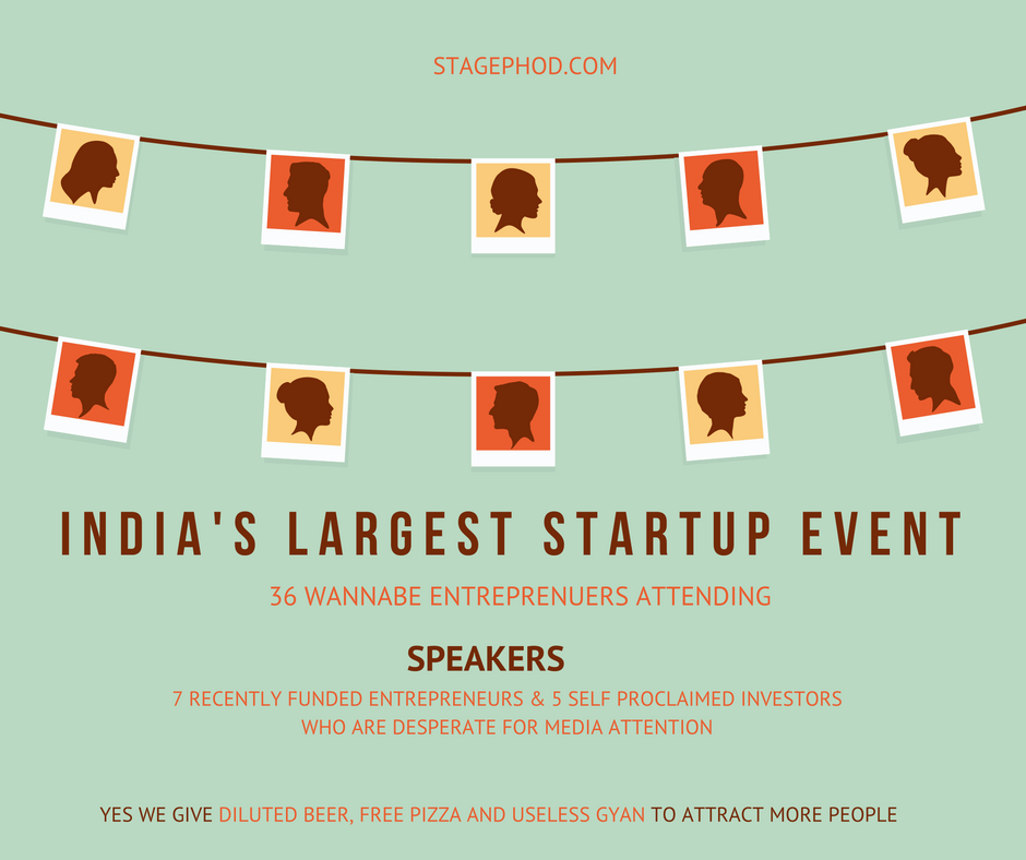 stagephod largest startup event