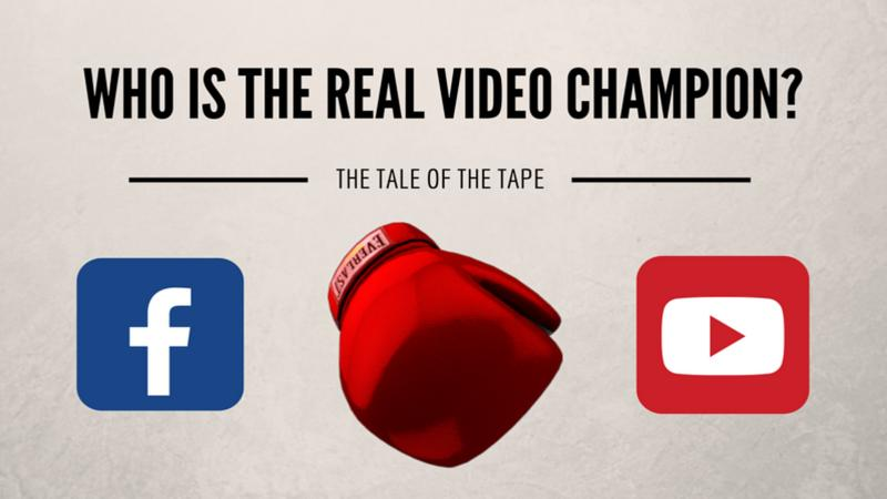Facebook vs YouTube video